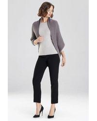 Natori Chunky Knit Cocoon Sweater - Multicolor
