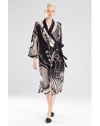 Josie Natori - Art Nouveau Robe - Lyst