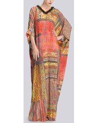 Natori Couture Zhanna Caftan - Multicolor