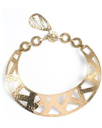 Natori - Josie Geometric Gold Necklace - Lyst