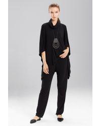 N Natori Speckled Interlock Pants - Black