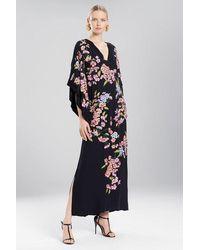 Natori Couture Hanami Caftan - Black