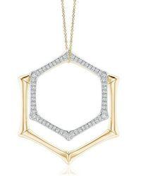 Natori Indochine Multi-wear Pendant Necklace - Metallic