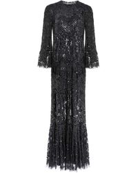 Needle & Thread Snowdrop Gown - Black