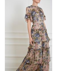 Needle & Thread - Painted Rose Gown - Lyst