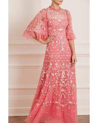 Needle & Thread Regency Garden Gown - Red