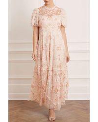Needle & Thread Isadora Gown - Pink