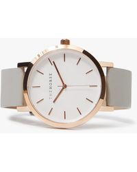 The Horse - The Original Watch Rose Gold/grey - Lyst