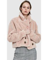 Farrow - Hazel Coat In Light Mauve - Lyst