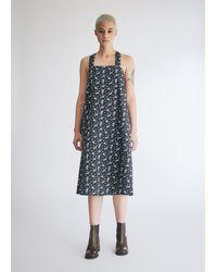 Engineered Garments Women's Cross Back Dress - Black