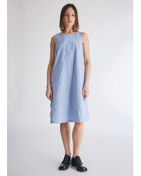 Engineered Garments Women's Square Neck Dress - Blue