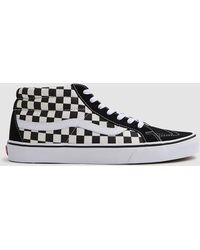83420f407a7 Vans Sk8 Mid Reissue Trainers in Black for Men - Lyst