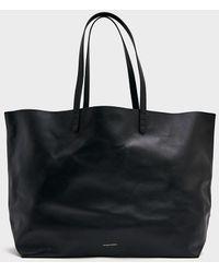 Mansur Gavriel Oversized Tote Bag - Black