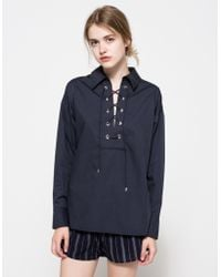 Need Supply Co. - A Little Soul Shirt In Navy - Lyst