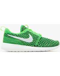 Need Supply Co. - Roshe One Flyknit In Green - Lyst