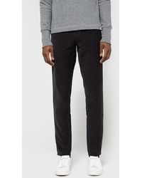Need Supply Co. - Aros Slim Light Corduroy In Charcoal - Lyst