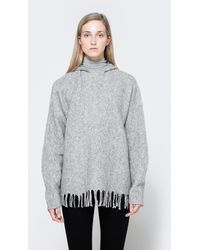 Need Supply Co. - Hooded Pullover With Fringe - Lyst