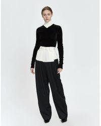 Rachel Comey - Divide Colorblock Wool Trouser - Lyst