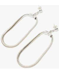 Open House - Soft Hoop Earrings - Lyst