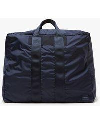 Porter Small Flex 2way Duffle Bag - Blue