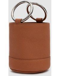 Simon Miller - Bonsai 15 Cm Bag In Tan Pebbled Leather - Lyst