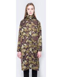 Ganni - Greenwood Raincoat - Lyst