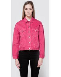 Acne Studios Lab Jacket In Pink