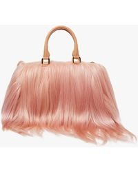 Brother Vellies Island Bag In Peach - Pink