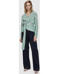 Goldsign - Trouser Welt Pocket Trousers In Stark - Lyst