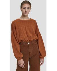 Stelen - Jannie Balloon Sleeve Sweater - Lyst