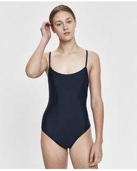 NU SWIM - Noodle One-piece Swimsuit - Lyst