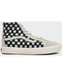 74f7d94859 Lyst - Vans Italian Leather Sk8-hi Reissue Vlt Lx Shoe for Men