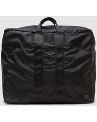 Porter Large Flex 2way Duffle Bag - Black