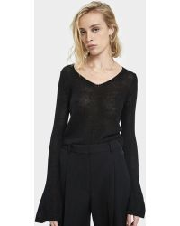 Which We Want - Rie Bell Sleeve Jumper - Lyst