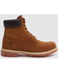 Timberland - 6 In. Premium Boot In Rust Nubuck - Lyst