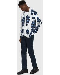 Saturdays NYC - Marco Orchid Button Up Shirt - Lyst