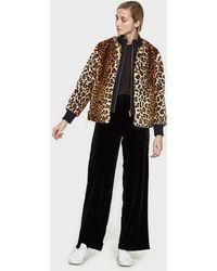 Ganni - Ferris Faux Fur Jacket - Lyst