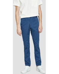Norse Projects - Aros Slim Light Stretch Pant In Anodized Blue - Lyst