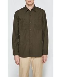 Beams Plus - Poplin Usn Long Sleeve Shirt - Lyst