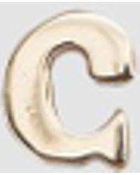 Loren Stewart - Single Alphabet Stud In C - Lyst