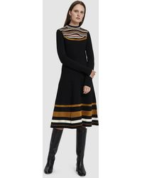 Proenza Schouler - Long Sleeve Knit Dress - Lyst