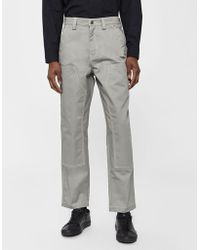 f40f2de0d2 Stussy Cord Beach Pant in White for Men - Lyst
