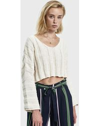 Which We Want - Lisa Oversize Cropped Jumper - Lyst