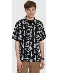 Obey - Dante Woven Shirt - Lyst