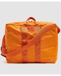 Porter Small Flex 2way Duffle Bag - Orange
