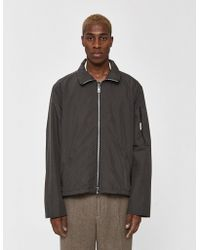 Our Legacy - Cropped Nylon Shelter Coat - Lyst