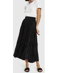 Stelen - Holi Skirt In Black - Lyst