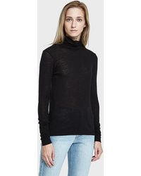 Just Female - Violet Roll Neck - Lyst