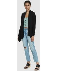 Which We Want - Kandance Draped Cardigan - Lyst