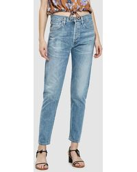 Citizens of Humanity - Liya High Rise Classic Fit Jean In Sunday Morning - Lyst